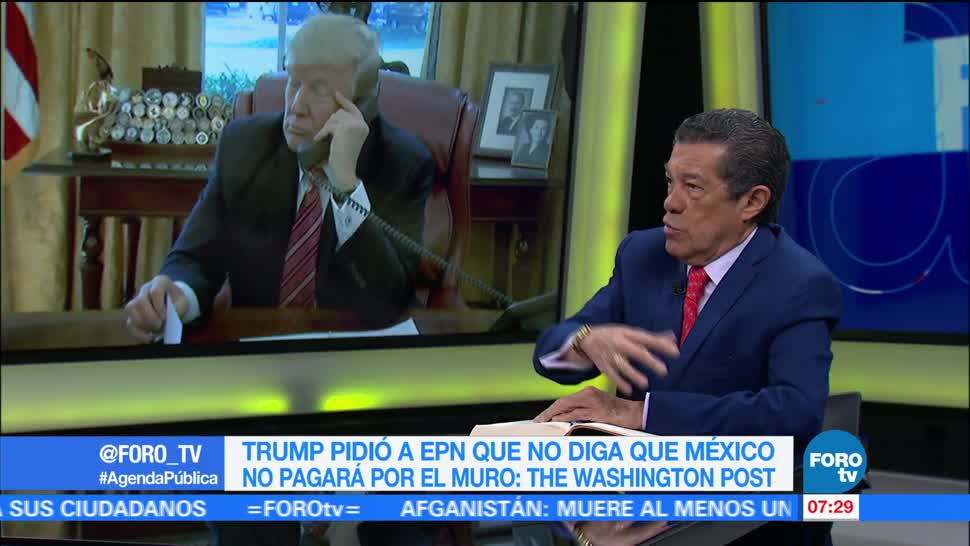 Llamada Donald Trump Enrique Peña Nieto Rafael Cardona Analista Politico