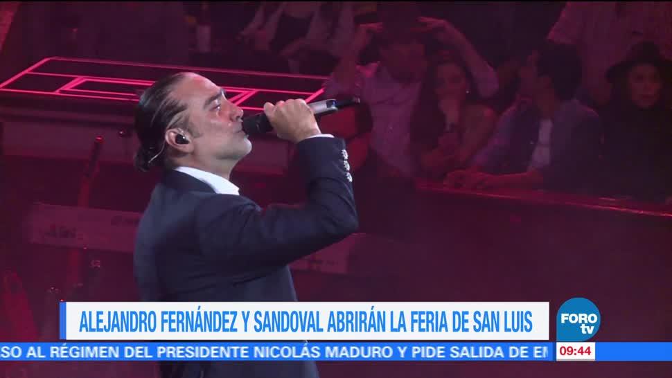 LoEspectaculardeME Alejandro Fernandez Sandoval feria de San Luis