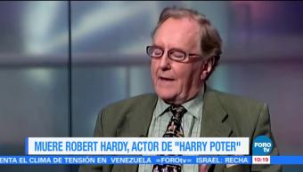 LoEspectaculardeME Muere Robert Hardy Harry Potter