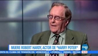 LoEspectaculardeME Muere Robert Hardy Harry Potter