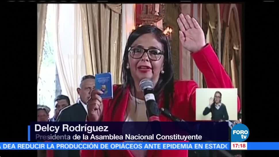 Instalan la Asamblea Nacional Constituyente Venezuela