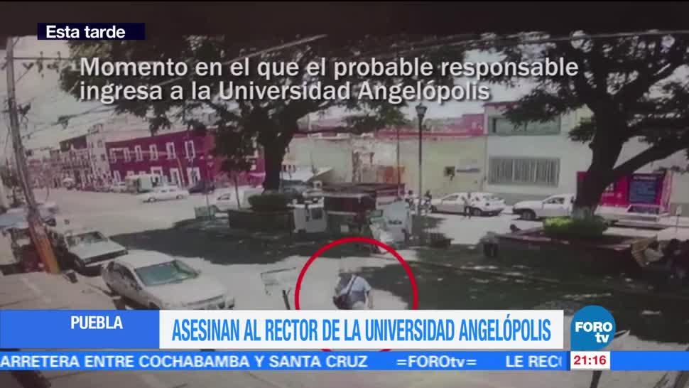 Asesinan al rector de la Universidad Angelópolis en Puebla
