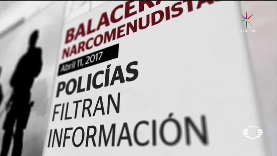 Informe revela complicidades de policías con grupo de 'El Ojos'