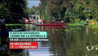 UAM alerta por contaminación alta en Xochimilco