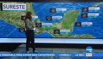Tiempo Raquel Mendez Esperan Altas Temperaturas