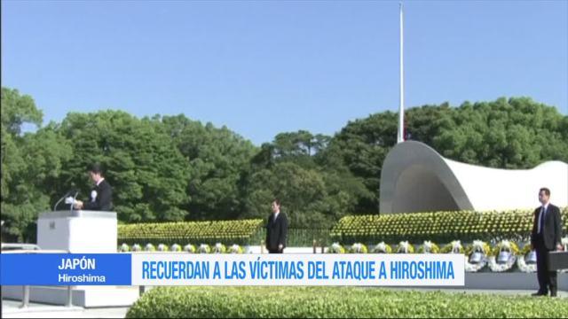 Recuerdan Victimas Ataque Hiroshima Japon Primer Ministro Japones, Shinzo Abe