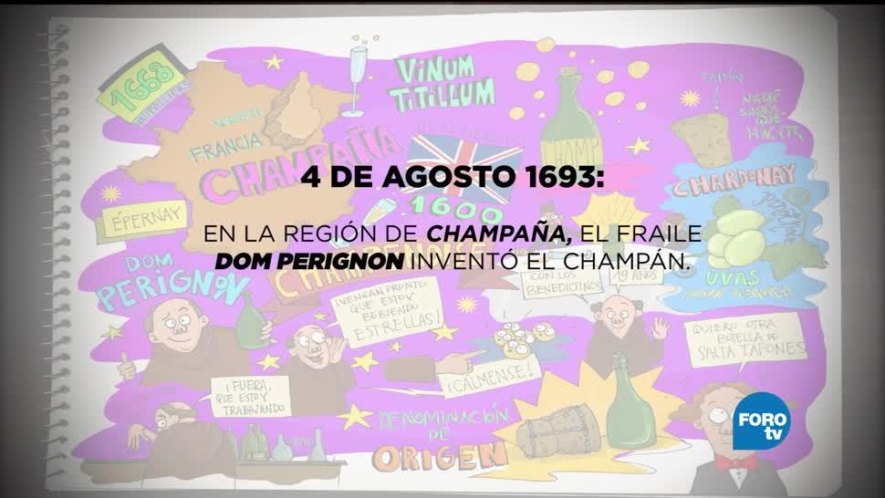 Anecdotario Secreto: Historia de la Champaña