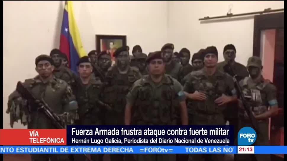 Asalto fallido a una base militar deja dos muertos en Venezuela