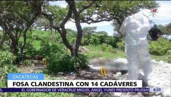 Descubren, fosa clandestina, cadáveres, Zacatecas
