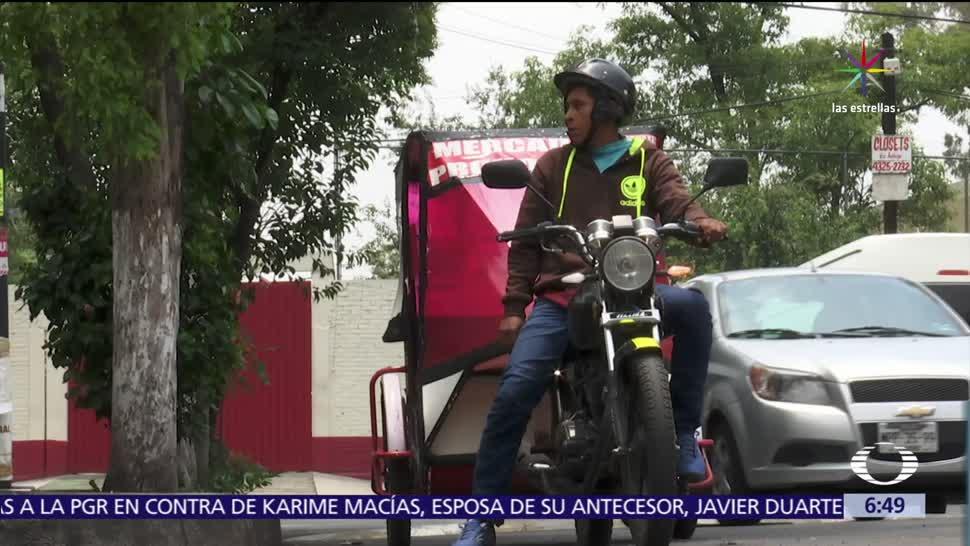 CDMX, reitera, mototaxistas, operar