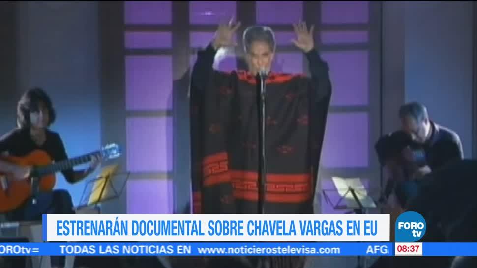 Estrenarán, documental, Chavela Vargas, EU