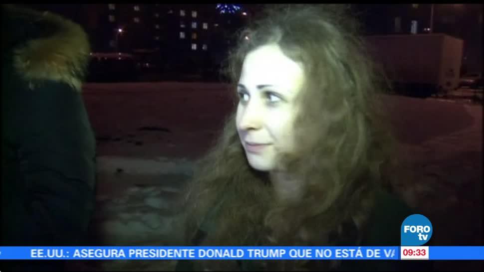 Detienen Rusia Integrantes Pussy Riot