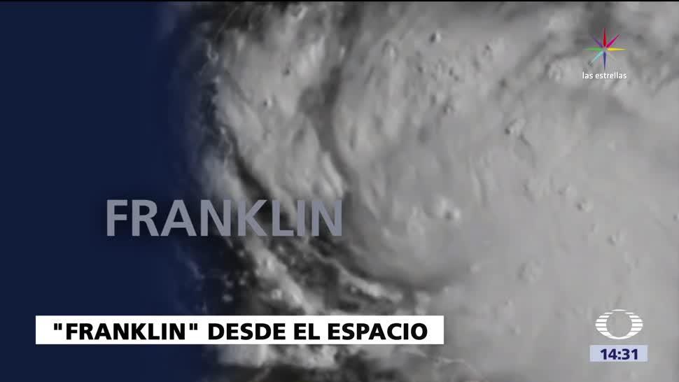 Alerta Tormenta Tropical Franklin Yucatan Q. Roo