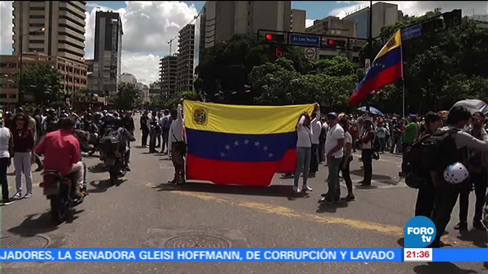 Venezuela personas identificaron Militares venezolanos sublevan