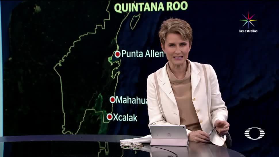 Quintana Roo en alerta roja Franklin