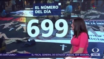 El, número, día, 699