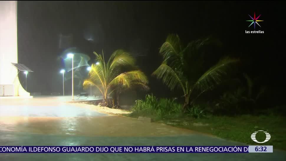 Tormenta Franklin avanza Quintana Roo