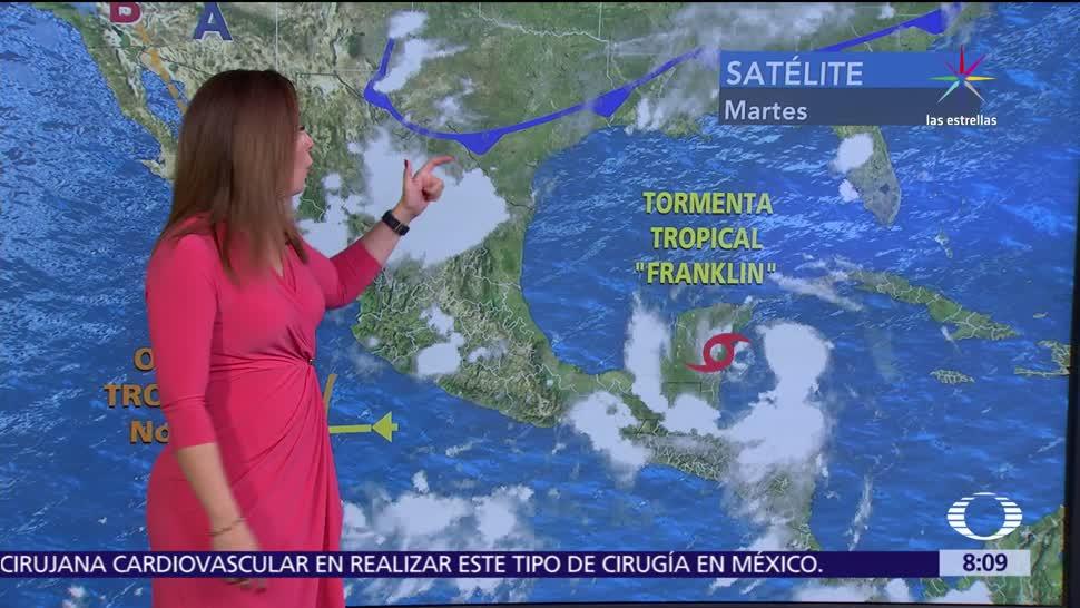 Franklin, causará, lluvias, Campeche