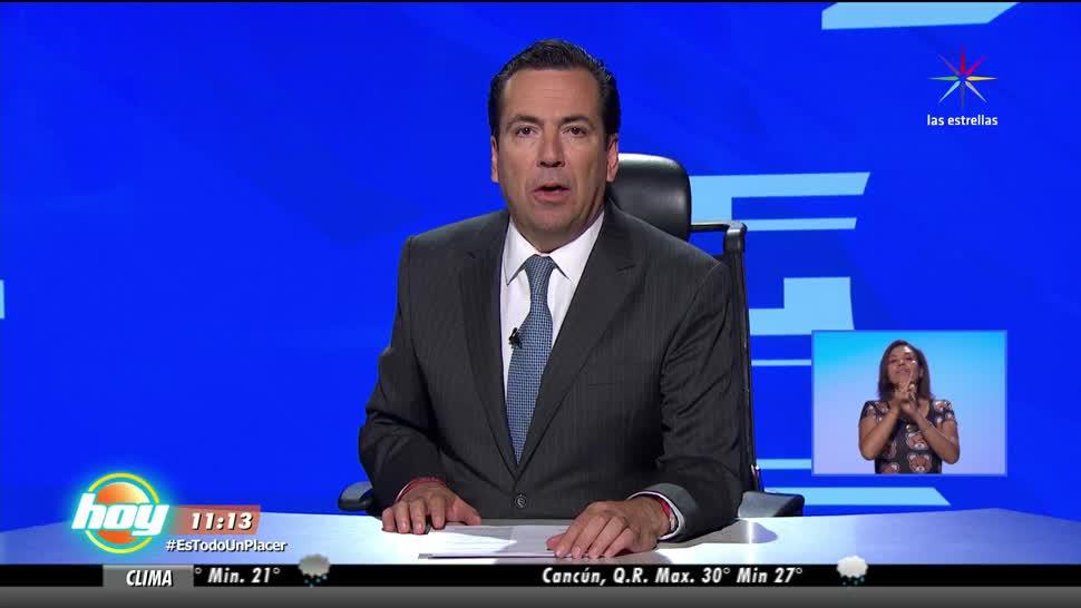 Las noticias, Hoy, Eduardo Salazar, Bloque 2
