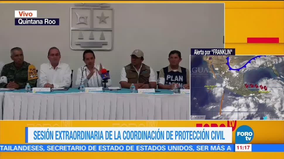 Franklin Afectará Norte Quintana Roo