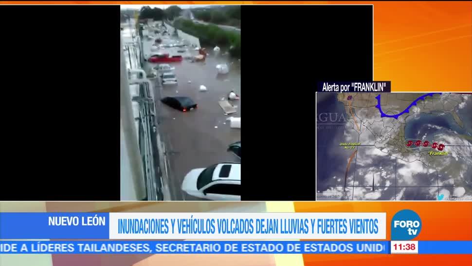 Lluvias, Nuevo León, heridos, Apodaca