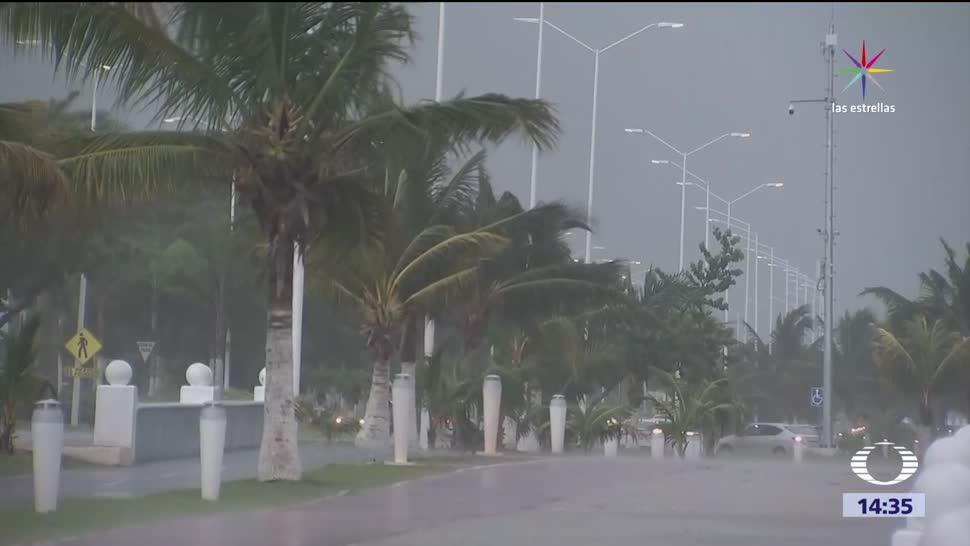 Alerta en Veracruz y Campeche por tormenta Franklin