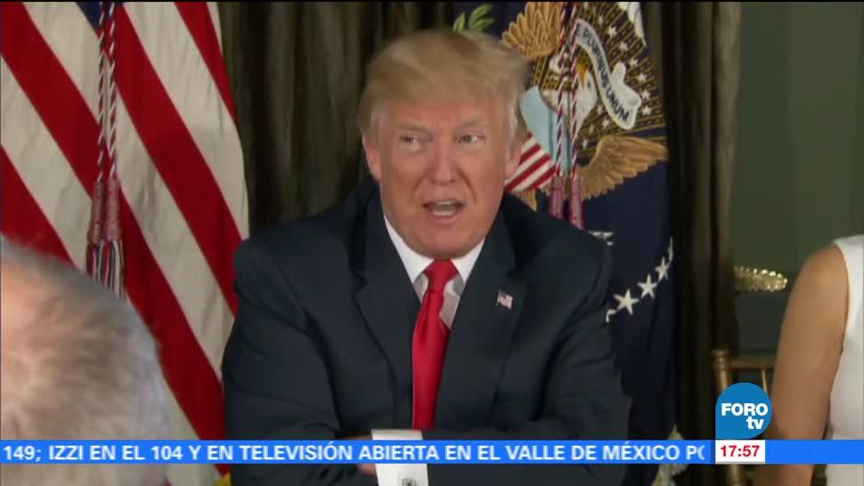 Trump amenaza a Norcorea con fuego y furia