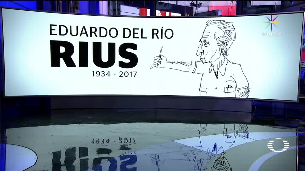 Muere caricaturista político Eduardo Rio Rius