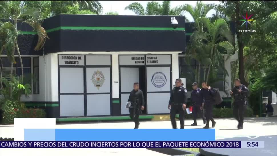 Destituyen, 34, policías, Chiapas