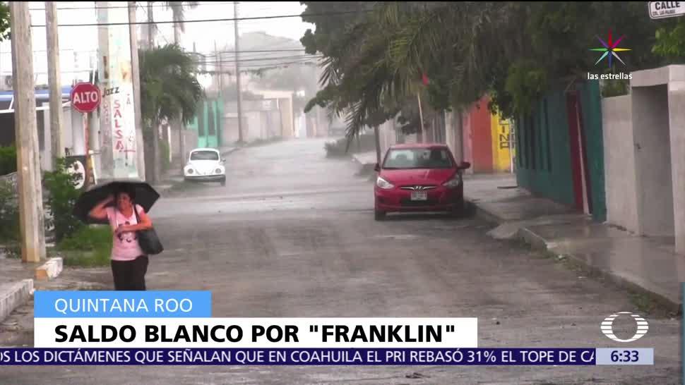 Yucatán, daños, tormenta, Franklin