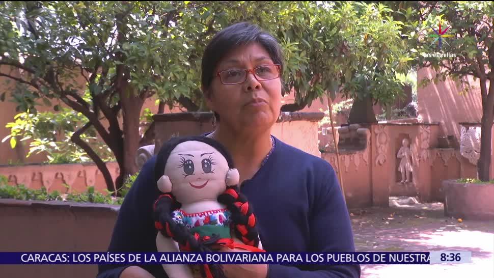 Muñecos, hablan, lenguas, indígenas