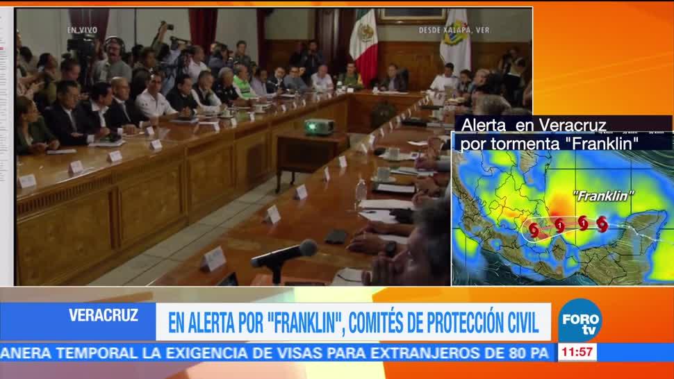 Franklin, podría, impactar, Veracruz