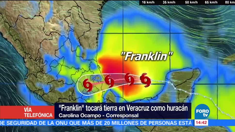 Suspenden actividades escolares Veracruz llegada Franklin