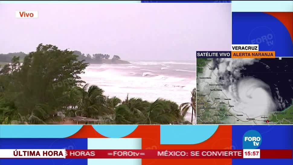 Alerta Veracruz por el huracán Franklin