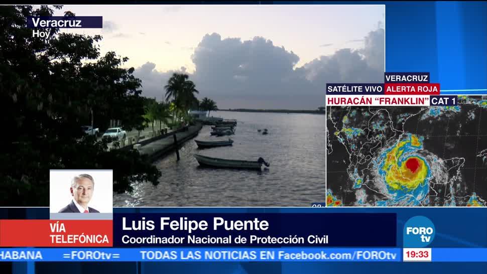 Luis Felipe Puente emite recomendaciones por 'Franklin'