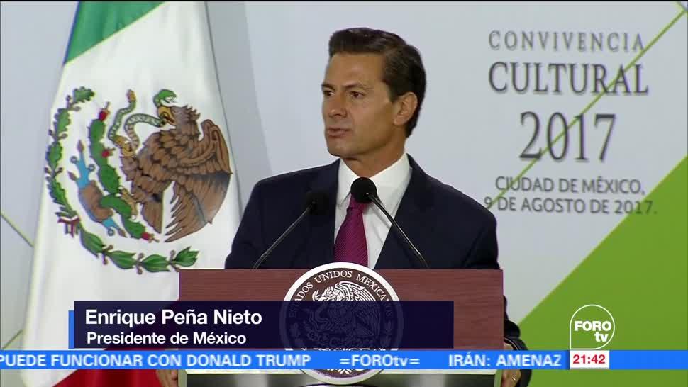 Peña Nieto destaca inversión en rehabilitación de escuelas