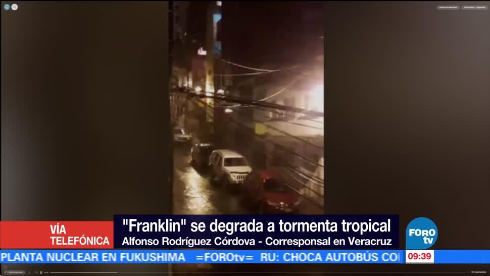 personas, refugiaron, albergues, Franklin