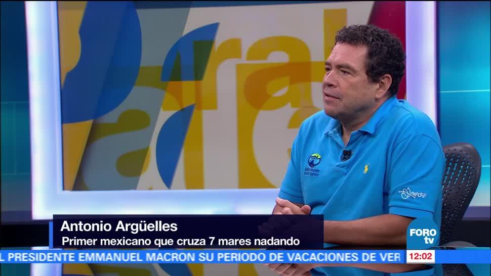 Antonio Argüelles, preparación mental, cruzar, mares