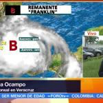 Reportan, damnificados, Veracruz, Franklin