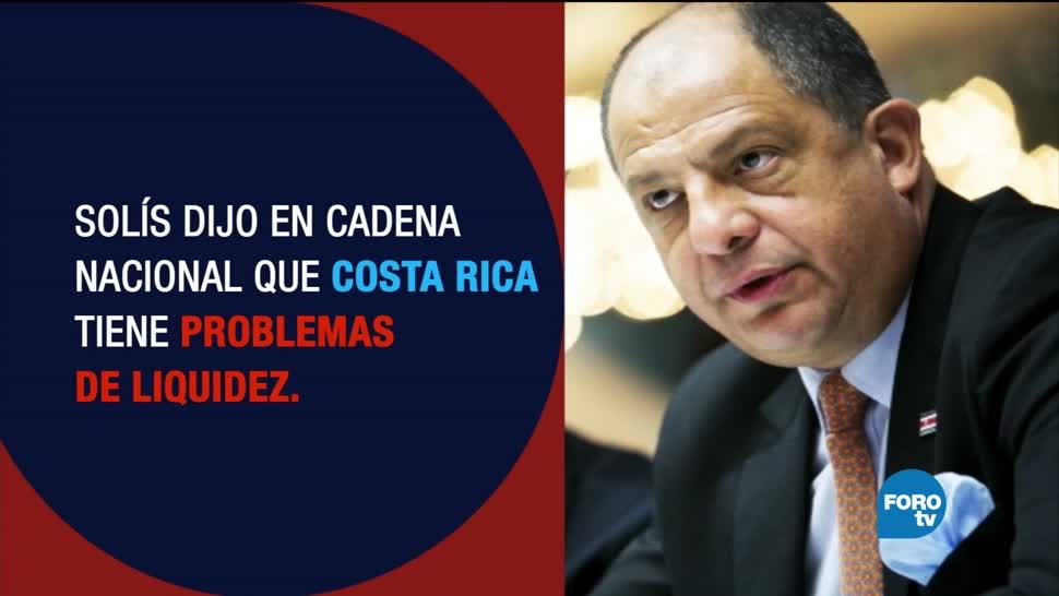 Costa Rica se quedó sin dinero