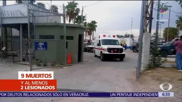 Riña en el penal de Tamaulipas