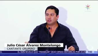 Julión Álvarez habla señalamientos Estados Unidos
