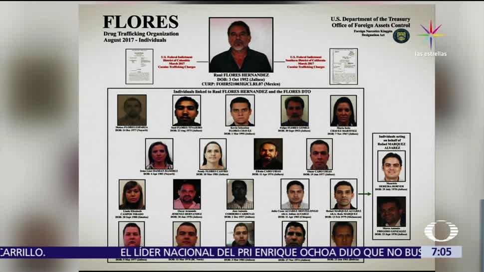 PGR trabajando EU, reclamado Raúl Flores