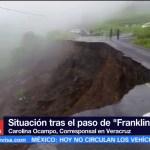 Continúa censo evaluación daños paso Franklin