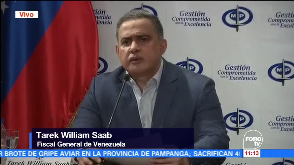 Fiscalía investigará medio ambiente protestas Venezuela
