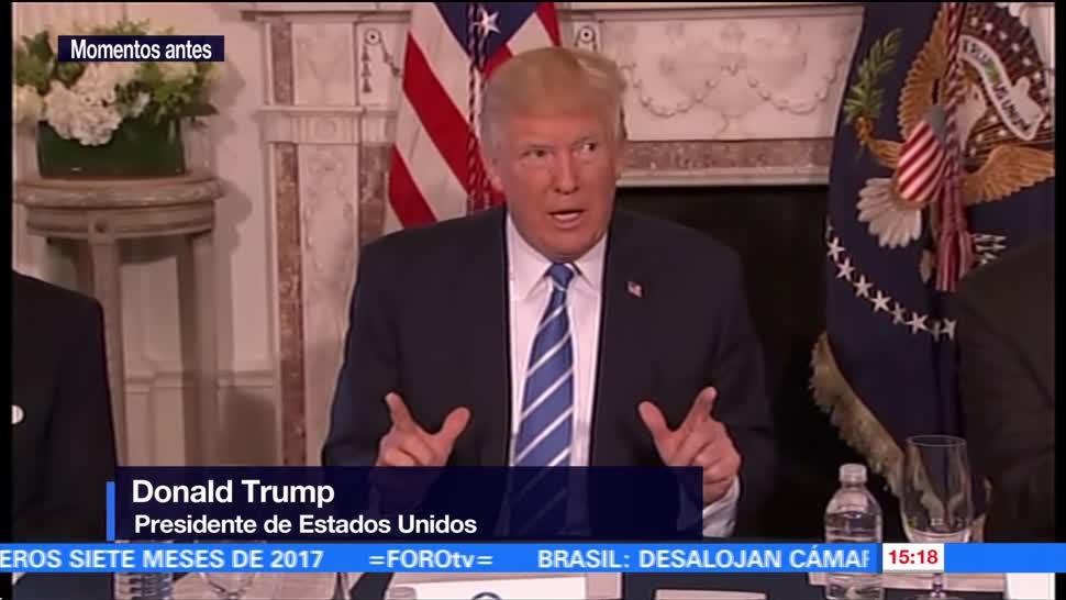 Advierte Trump Corea Norte Guam Arrepentira
