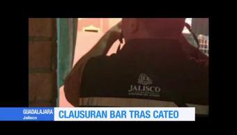 Hallan Droga Clausuran Bar Avenida Vallarta Guadalajara