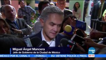 Mancera fecha dejar cargo CDMX elección