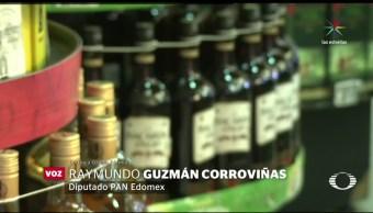 Despenalizan venta de alcohol menores Edomex
