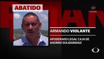 Asesinan abogado ahorro defraudó jubilados Pemex